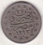 EGYPTE. 1 QIRSH AH 1293 Year 27. Copper Nickel.KM# 299. Empire Ottoman - Egypte