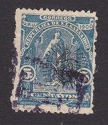 El Salvador, Scott #273a, Used, Ceres Overprinted, Issued 1900 - El Salvador