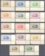 Reunion: Yvert N° 233/246**; MNH; Bord De Feuille; Cote 11.40€ - Neufs