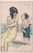 Illustrateur Mauzan  Femme & Enfant - Mauzan, L.A.
