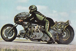 Course De Vitesse Dragster Pilote Henk Vink Sur Kawasaki - Sport Moto