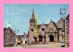 CPM  PLESTIN LES GREVES L église St Efflam - Plestin-les-Greves