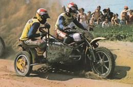Course De Motocross Side Car Cor Den Biggelaar Et Cor Van Der Bijl - Sport Moto