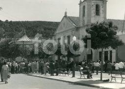 60s REAL FOTO PHOTO POSTCARD IGREJA CORETO TRAFARIA ALMADA PORTUGAL CARTE POSTALE - Setúbal