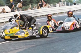 Course Sur Route Side Car Bmw Georg O Dell /geert Hut   Puis Otto Haller/erich Haselbeck - Sport Moto