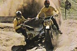 Course De Motocross Side Car Michel Girardin /freddy Hartman Honda - Sport Moto