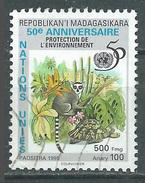 Madagascar 1995 Nations Unies Oblitéré ° - Madagascar (1960-...)