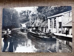 CPSM 02 BELLICOURT RIQUEVAL Le Souterrain Du Canal De Saint Quentin Bati Sous Napoléon 1er PENICHE - Francia