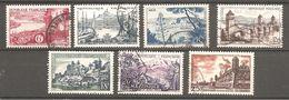 France N° 1036 à 1042- OBLITERES - Francia