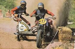 Course De Motocross Side Car Wil Van Der Laan/marius Van Der Berg Castrol Continental Verstegen Motor - Sport Moto