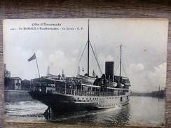 CPA SAINT MALO à Saouthampton Ile Et Vilaine 35 Le Sarnia Bateau Navire Animée - Saint Malo
