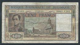 . Belgique - 100 Francs - 15-04-1949 - [ 2] 1831-... : Belgian Kingdom