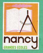 NANCY GRANDES ECOLES/ AUTOCOLLANT - Autocollants