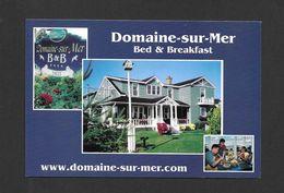 COCAGNE - NEW BRUNSWICK - DOMAINE SUR MER UN GÎTE QUATRE ÉTOILES - A FOUR STAR B & B - Nouveau-Brunswick