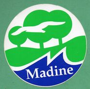 MADINE  / AUTOCOLLANT - Autocollants