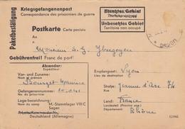 CARTE EN FM.  PRISONNIER DE GUERRE. 20/9/1942 STALAG VIII C - Guerre De 1939-45