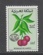 TIMBRE NEUF DU MAROC - FRUITS : CERISES N° Y&T TAXE 67 - Frutta