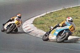 Course De Vitesse Sur Route Marcel Ankone Rob Bron Suzuk - Sport Moto