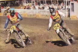 Course De Motocross Bengt Aberg Et Brad Lackey - Sport Moto
