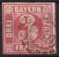 """9 PF III, O, Schräger Kratzer Von """"o"""" Bis """"u"""" - Bayern"""