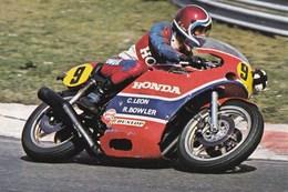 Course De Vitesse Sur Route Christian Leon  Sur Honda - Sport Moto