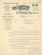 93. Constructions En Fer Et En Bois. Serres, Chauffage Thermosiphon. L. Cochu Fils à Saint-Denis - 1922 - VR_C2_28 - Francia
