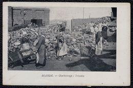 BELGIQUE - CHARBONNAGE - TRIEUSES DE CHARBON - COAL MINE - 1910 - Mines