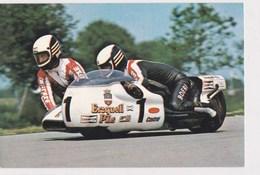 Course De Vitesse Side Car Rolf Steinhausen/sepp Huber - Sport Moto