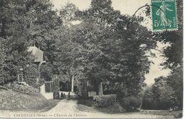 61 Orne Coulonges L'Entrée Du Château - France