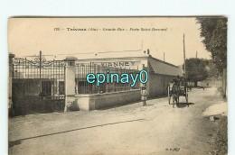 B - 01 - TREVOUX - PRIX FIXE - Grande Rue - Porte Saint Bernard - établissement Vianney - Trévoux