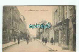 B - 01 - TREVOUX - PRIX FIXE - Rue Du Palais - Librairie - Papeterie - Trévoux