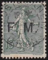 France   .    Yvert      .    Fm   3       .         O   .        Oblitéré - Franchise Militaire (timbres)