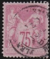 France   .    Yvert      .       81            .         O   .        Oblitéré - 1876-1898 Sage (Type II)
