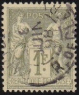 France   .    Yvert      .       82            .         O   .        Oblitéré - 1876-1898 Sage (Type II)