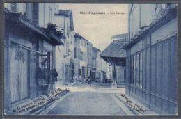 Carte Postale  47. Mas-d'Agenais  Rue Galiane  Trés Beau Plan - France