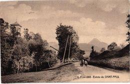 ENTREE DE SAINT PAUL EN CHABLAIS .. 1915 - France