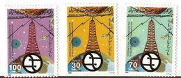 1985 Libya Telecommunications  Complete Set Of 3   MNH - Libië