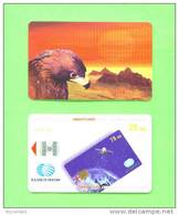 KAZAKHSTAN - Chip Phonecard/Eagle At Sunset - Kazakhstan