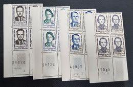N° 1157 à 1160  Neuf ** Gomme D'Origine En Bloc De 4  TTB - Unused Stamps