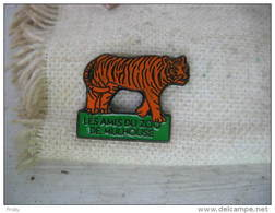 Pin´s Des Amis Du Zoo De MULHOUSE. Tigre - Animaux