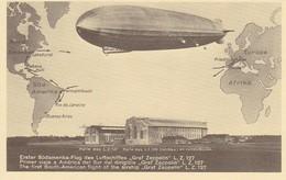 "AK Zeppelin - Erster Südamerika-Flug Des Luftschiffes ""Graf Zeppelin"" L.Z. 127  (30225) - Airships"