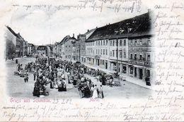 Deutschland, Gruss Aus Schmölln, Markt - Schmoelln