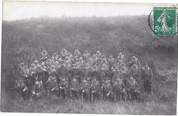 BACCARAT --Carte Photo --Regiment  :20eme Chasseur -  (RENARD Photographe à Baccarat ) - Baccarat
