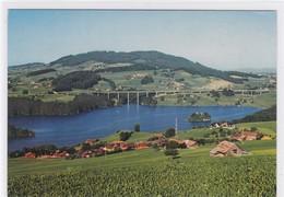 Pont-la-Ville, Lac De La Gruyère, Ile D'Ogoz, Pont Autoroutier - FR Fribourg