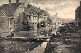 21 - Dijon - L'Ouche, Aux Tanneries (animée) - Dijon