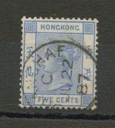 HONG KONG (GB) -  VICTORIA - N° Yt 37 Obli. - Hong Kong (...-1997)