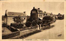 35 - Paimpont - L'Hôtel Allaire (1936) - Paimpont