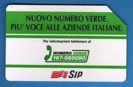 (2Eu) USATA °- NUMERO VERDE - C&C. 2371 - Mn - .  Vedi Descrizione - Italy