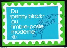 """"""" Du """"Penny Black"""" Au Timbre-poste Moderne """" - Document émis Par Les Postes Belges - Table Des Matières En Scan 2. - Autres Livres"""