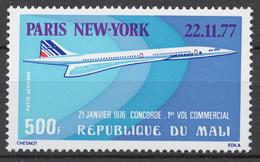 Mali 1977 Mi# 611** CONCORDE - Mali (1959-...)